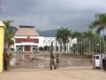 Auch der Präsidentenpalast war Opfer der Flut