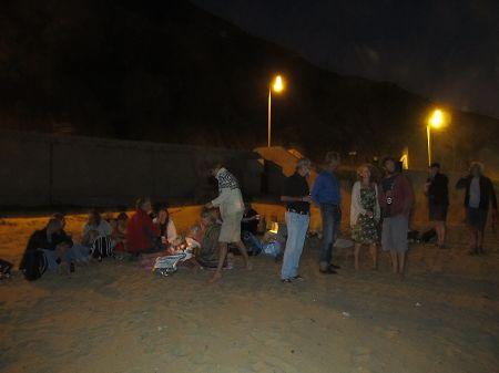 Grillabend in Porto Santo