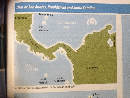 Die weit abgelegene Insel Providencia gehört zu Kolumbien