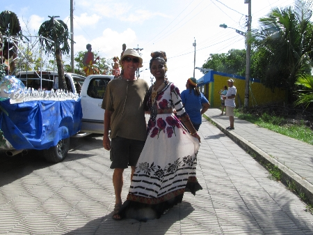 Photoshooting mit Miss Guyana