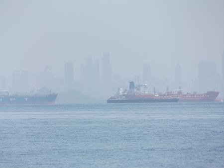 Ein letzter Blick auf Panama City