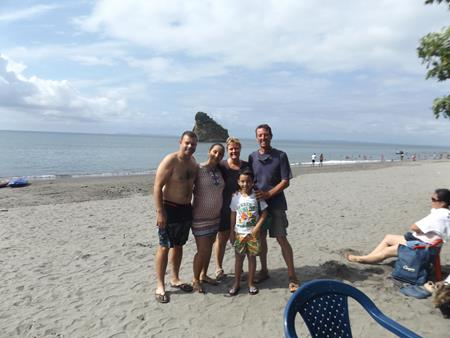 Sonntagsausflug mit Gonsalo, Gabriela und Eduardo
