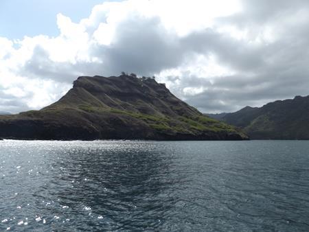 Imposante vulkanische Naturgestaltung