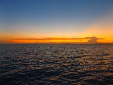 Morris Island: Abenddämmerung am Ankerplatz
