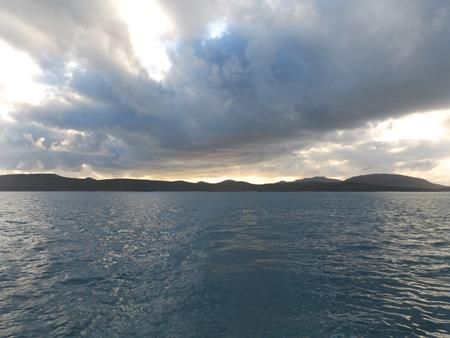 Stanley Island: Morgenwolken