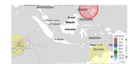 Zyklonvorhersage: www.cyclocane.com vom 19.12.2020