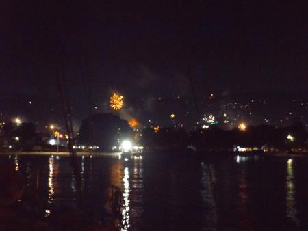 Auch dieses Jahr das alljährliche Silvesterfeuerwerk