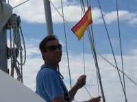 Wir erreichen Spanien. Viva España!
