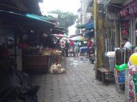 Marktstraße in Tumaco