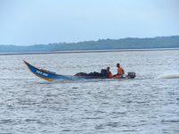 Typisches Transport- und Fischerboot das bis zu 100 km aufs Meer hinausfährt