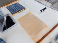 Gegenwinds Solarfelder an Deck sind defekt und müssen runter