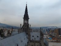 Basilica del Voto Nacional: Über den Dächern von Quito