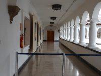 Präsidentenpalast: Hinter der Tür sitzt der Präsident von Ecuador