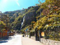Unser Hostel direkt am Wasserfall
