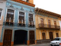 Cuenca: Altstadt im kolonialen Baustil