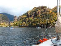 Westküste Fatu Hivas, Marquesas: Hanavave unsere Ankerbucht