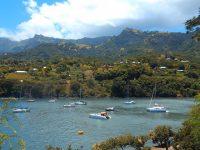 Unser Anerplatz in der Baie Tahauku: Hiva Oa