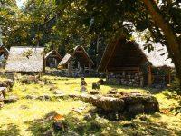 Polynesische Kult- und Wohnstätte Iipona