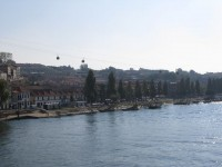 Portweinkellereien am Südufer des Douro