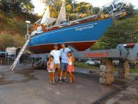 Stolze Werftbesitzer: Kimiora, Maria, Vincent, Ganaia