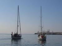 Leixos:: gemeinsames Auslaufen Shogoun und Cariad