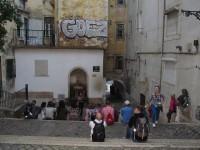 Lisboa: kulturelle Wohngegend im jüdischen Viertel