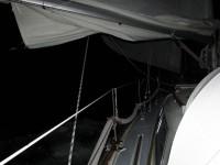 Stockfinster - Segeln in die Nacht hinein