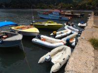Dingi und Fischer Platz ohne die World ARC