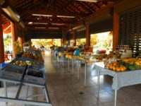 Früchte- und Gemüsemarkt am Hafen