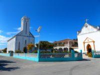 Größte Kirche in den Tuamotos