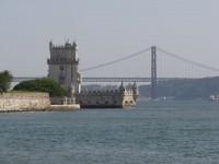 Weltkulturerbe Torre de Belém am Eingang zu Lisboa