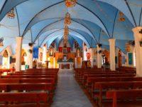 Liebevoll getsaltete Kirche