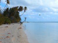 Motu Hiriva: Hübscher Strand und Schutz vor Wind und Wellen