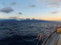 Tahiti in Sicht