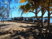 Marae - archäologische Stätte