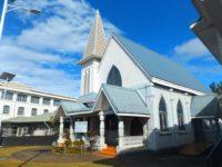 Eine protestantische Kirche