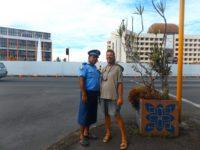 Polizei im Rock