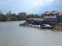 Labasas Markthallen von hinten
