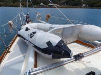 Das Ende von unserem zweiten Schlauchboot