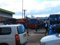 Busbahnhof in Labasa als Drehkreuz der Insel