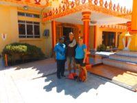 Chalmaiya zeigt uns seinen Sangam Tempel