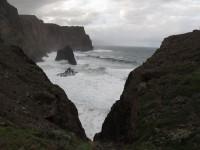 Madeira: Nordseite bei hohen Wellen