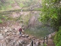 Madeira: Nieselregen in der Levada do Furado