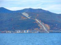 Baie de Prony: Minenindustrie inmitten von Natur