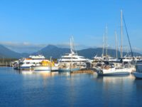Unser Liegeplatz in der Marlin Marina aus Touristenperspektive