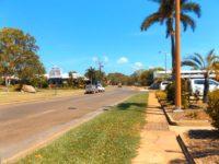 Hauptstraße im Ort