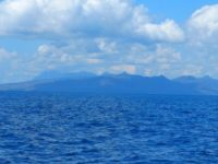 Die bis zu 2967 Meter holen Berge Osttimors begrüßen uns