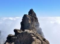 Pico de Las Nieves über den Wolken (1949m)