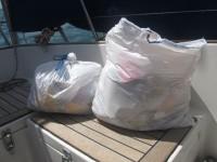 Unser Restmüll von 25 Tagen auf See