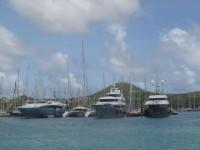 Gegenwinds große reiche Verwandte treiben sich in der Karibik herum